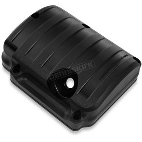 Performance Machine Black Ops Drive Style Transmission Top Cover - 0203-2015-SMB