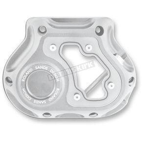 Roland Sands Design Machine Ops Clarity Hydraulic Clutch Actuated Transmission Cover - 0177-2050-SMC