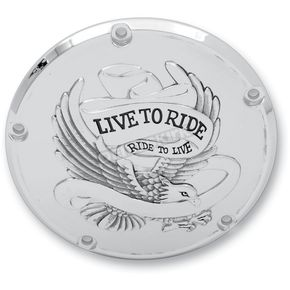 Live To Ride/Eagle Spirit Derby Cover - 5-Hole - 1107-0157