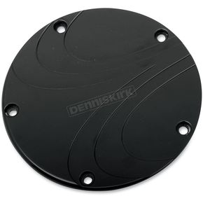 Carl Brouhard Designs Black Anodized Waterfall Derby Cover - WF0013B