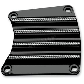 Covingtons Customs Black Diamond Edge Inspection Cover - C1195-D