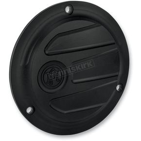 Performance Machine Black Ops Scalloped Derby Cover- 3-Hole  - 0177-2027-SMB