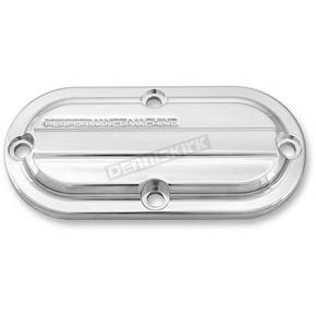 Performance Machine Chrome Drive Style Inspection Cover - 0177-2041-CH