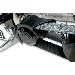 Thunder Cycle Designs Black Short Belt Shroud for Primo Brute IV Belt Drive System - TC-198B