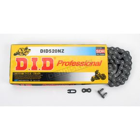 DID 520 NZ Super Non O-Ring Series Drive Chain - 520NZ-100