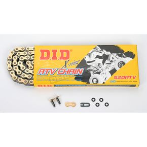 DID 520 ATV X-Ring Drive Chain - D18520ATV102