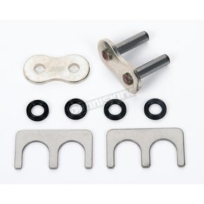 EK Chain 530 MVX Chrome Rivet Connecting Link - 530MVXZ-MLJ/S