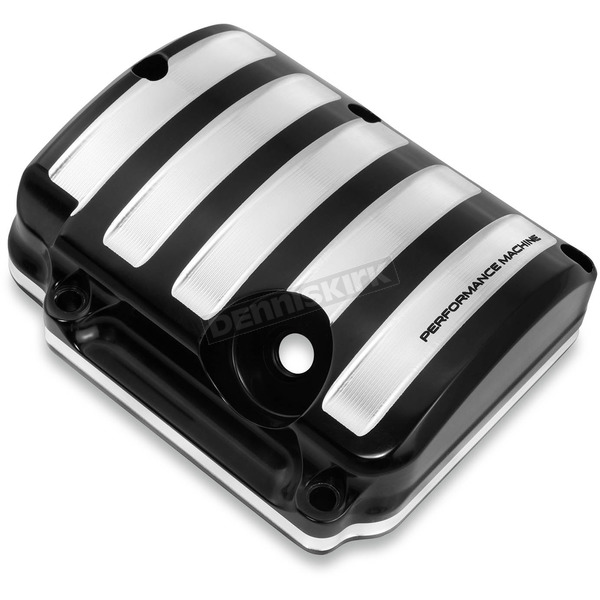 Performance Machine Contrast Cut Drive Style Transmission Top Cover - 0203-2015-BM