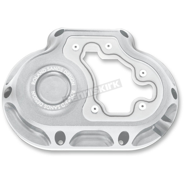 Roland Sands Design Machine Ops Clarity Hydraulic Actuated Transmission Cover - 0177-2048-SMC