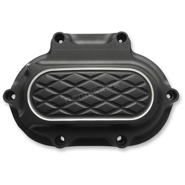 Thunder Cycle Designs Black Anodized Hydraulic Transmission Side Cover - TC-530B