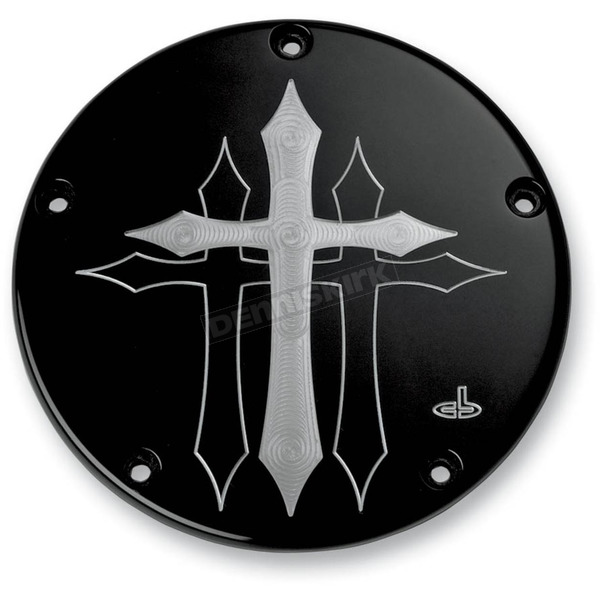 Carl Brouhard Designs Black Cross Derby Cover - CR-0004-B