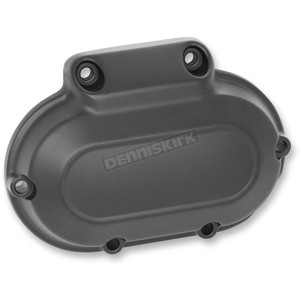 Drag Specialties Black Transmission Side Cover - 1107-0368
