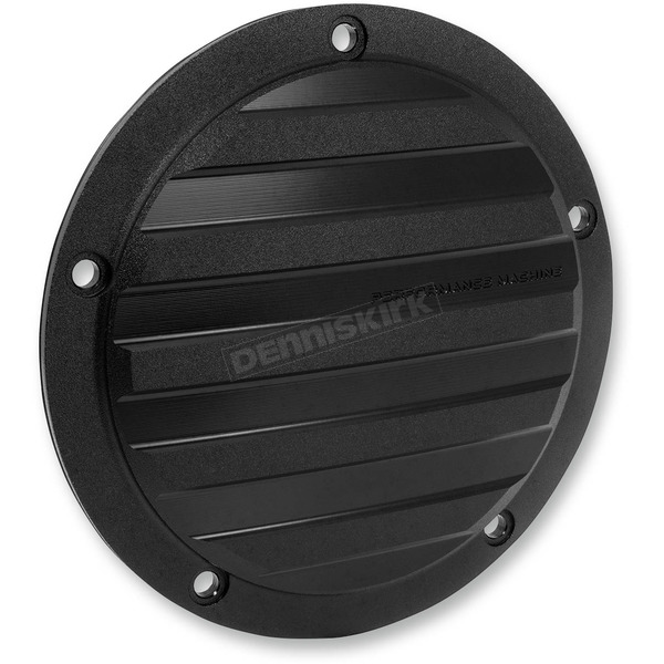 Performance Machine Black Ops Drive Style Derby Cover - 0177-2040-SMB