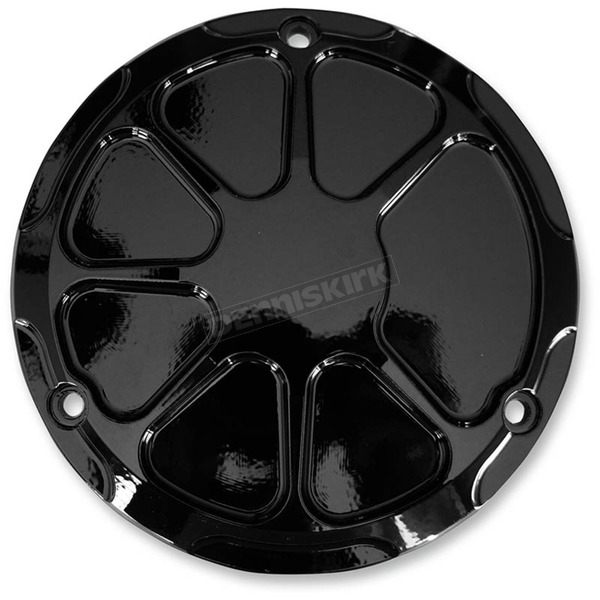 LA Choppers Decadent Black Powdercoat Fusion Derby Cover - LA-F430-02B