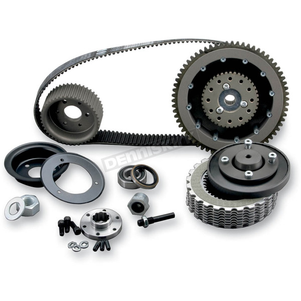 Belt Drives LTD 1-1/2 in. 8mm Belt Drive with Quiet Clutch System - EVBB-3T-4
