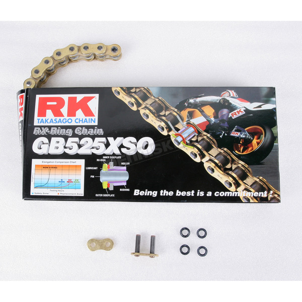 RK GB525XSO Sealed Ring Chain - GB525XSO-120