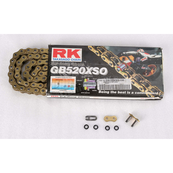 RK GB520XSO Sealed Ring Chain - GB520XSO-120