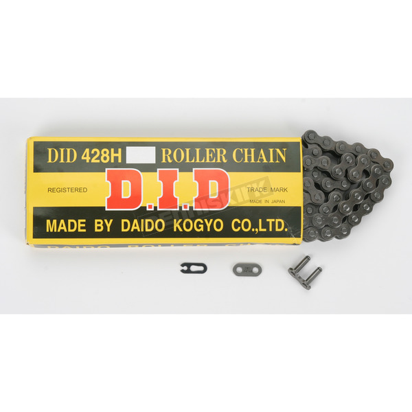DID 428 H Heavy Duty Series Drive Chain - D18-429H-112