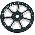1 in. Diesel Black Ops Forged Aluminum Pulley - 00936266DIELBM