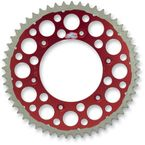 48 Tooth Red TwinRing Heavy-Duty Sprocket - 1540-520-48GPRD