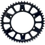 48 Tooth Black Anodized Rear Works Triplestar Aluminum Sprocket - 5-355948BK