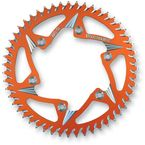 Orange Rear Aluminum Sprocket - 316ZO-51