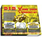 X-Ring Chain and Sprocket Kit - DKS-014G