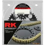 Natural Yamaha 525XSO Chain and Sprocket Kit  - 7083-110E