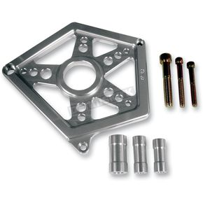 Joker Machine Clear Anodized Sprocket Cover - 10-810S