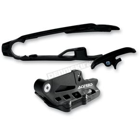 Acerbis Black Chain Guide Block and Slider Set - 2314050001