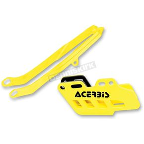 Acerbis Yellow Chain Guide Block and Slider Set - 2314070005