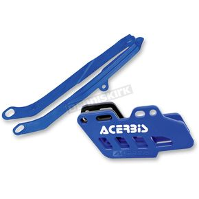 Acerbis Blue Chain Guide Block and Slider Set - 2314080003