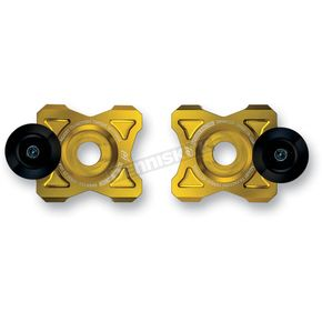Driven Racing Gold Axle Block Sliders - DRAX-113-GD
