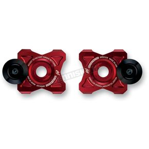 Driven Racing Red Axle Block Sliders - DRAX-113-RD