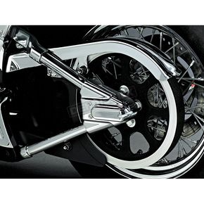 Kuryakyn Swingarm Cover Set with Unlighted Phantom Covers - 8256