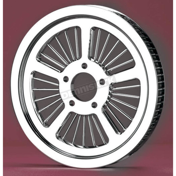 Landmark Chrome 66-Tooth Smooth Spoke Pulley - LM5000-38S