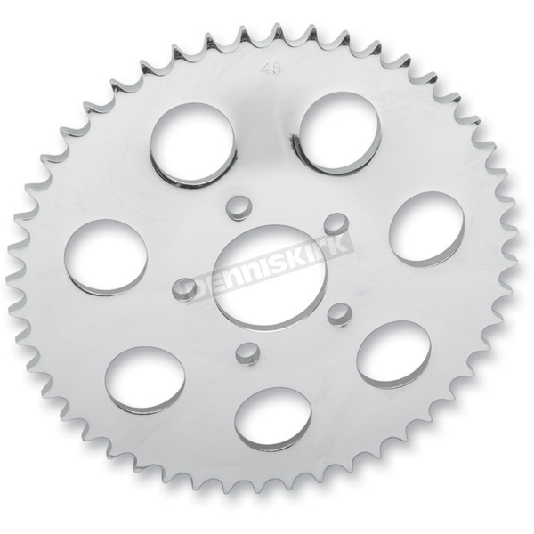 Drag Specialties 530 Chain Conversion Rear 47T Flat Sprocket W/1.9