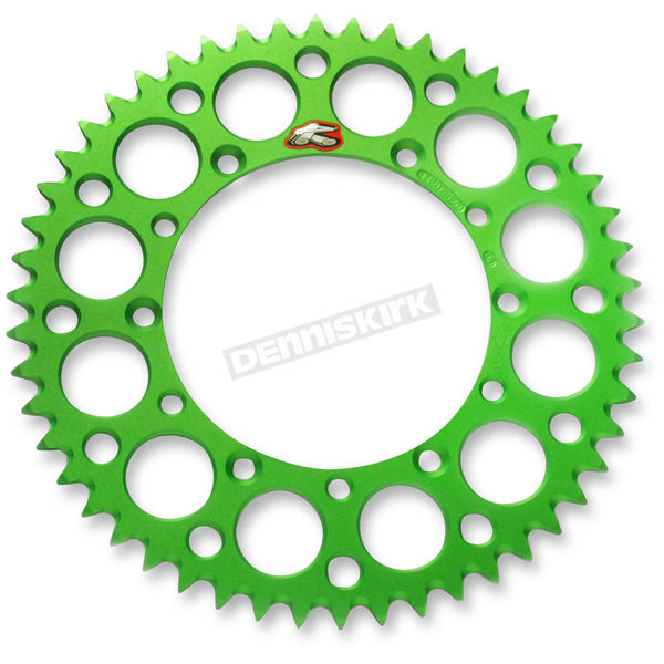 Renthal Green TwinRing Rear Sprocket - 112052049GPG