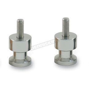 Factory Effex Silver 8mm Swingarm Spools - 15-36908