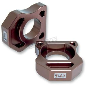 Yoshimura Axle Adjuster Blocks - 010BZ116000