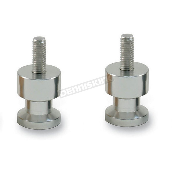 Factory Effex Silver 10mm Swingarm Spools - 15-36910
