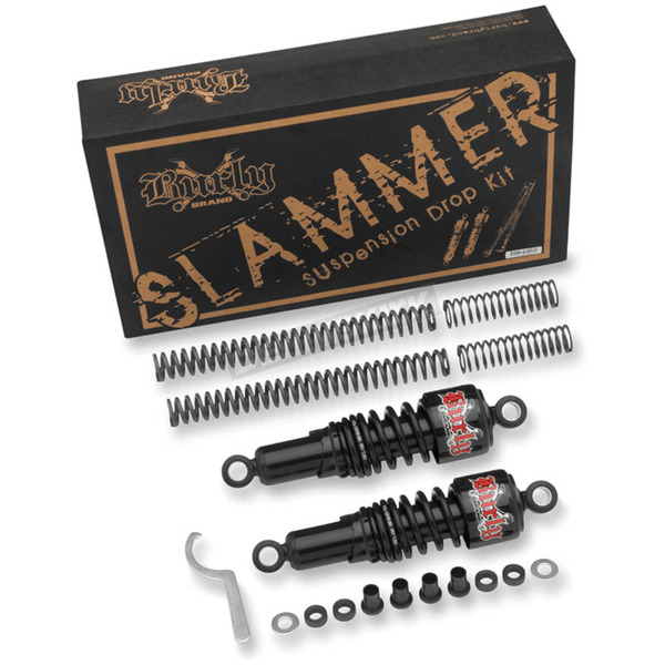 Black Slammer Kit - 90/130 Spring Rate (lbs/in) - B28-1001B