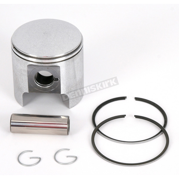 Parts Unlimited OEM-Type Piston Assembly - 68mm Bore - 09-7522