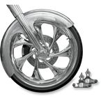 Builder Front Fender Kit with Chrome Adapters - FNDRKT23