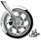 Phantom Front Fender Kit with Chrome Adapters - FNDRKT23RC
