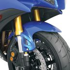 Vented Blue Front Fender - 80801-1402