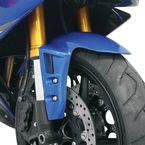 Vented Blue Front Fender - 80708-1402