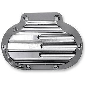 Covingtons Customs Chrome Finned Hydraulic Transmission Side Cover - C1362-C