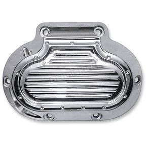 Covingtons Customs Chrome Diompled Hydraulic Transmission Side Cover - C1363-C