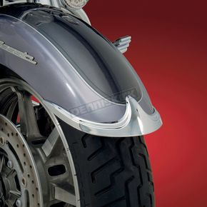 Show Chrome Front Fender Tip Accent - 63-615